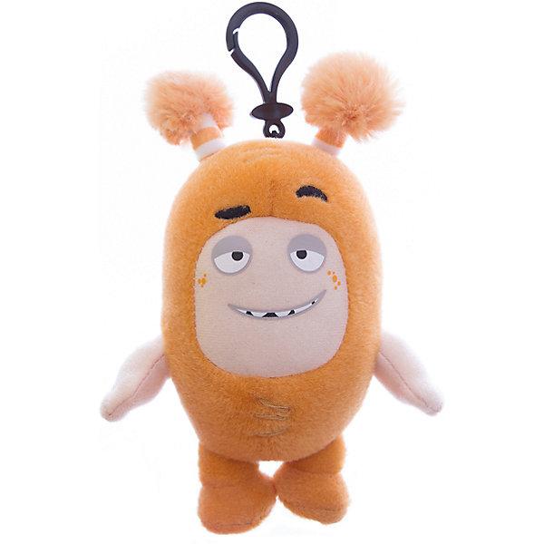 купить Oddbods Мягкая игрушка-брелок Oddbods Слик, 12 см онлайн