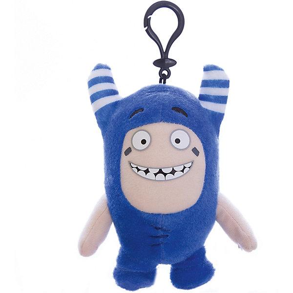 Мягкая игрушка-брелок Oddbods Пого, 12 см, Синий