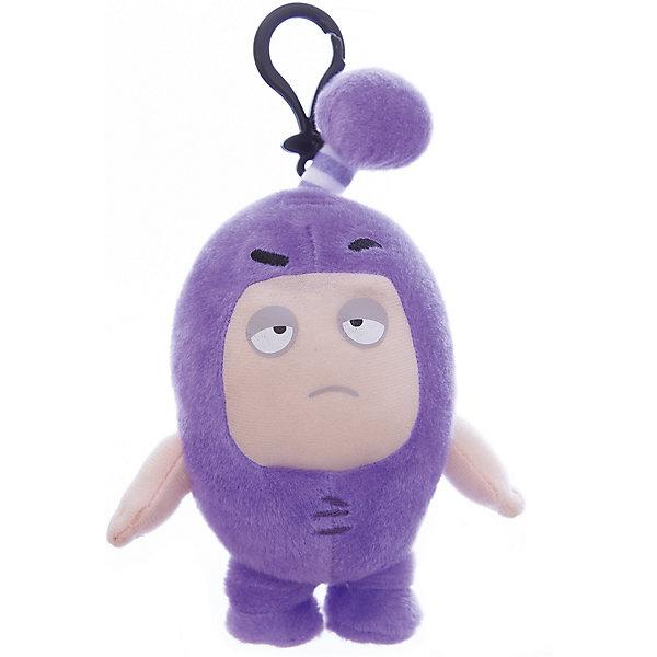 цены Oddbods Мягкая игрушка-брелок Oddbods Джефф, 12 см