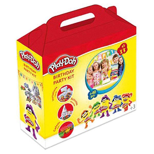 Набор Play doh Вечеринка, 5 маркеровНаборы для рисования<br>Характеристики товара:<br><br>• возраст: от 3 лет;<br>• пол: для девочек и мальчиков;<br>• комплектация: 5 маркеров, 5 восковых мелков, 5 наклеек, 5 разноцветных колпаков и масок, 5 воздушных шаров;<br>• количество игроков: 5 человек;<br>• размер упаковки: 25х8х22 см.;<br>• вес: 930 гр.;<br>• упаковка: картонная коробка.<br><br>Праздничный набор «Вечеринка» поможет ребенку отлично подготовиться к празднованию дня рождения.<br><br>В наборе представлены заготовки для творчества в виде колпаков и масок с контурными изображениями, которые нужно раскрасить, а также мелков, маркеров, наклеек и воздушных шаров. <br><br>Набор порадует любого ребенка и даст ему возможность насладиться приятными предпраздничными хлопотами.<br><br>Набор «Вечеринка» можно купить в нашем интернет-магазине.