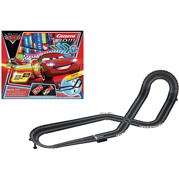 Carrera Автотрек Carrera GO!!! Тачки Neon Cup, 1:43 автотрек kidkraft ипподром тачки 3 флорида