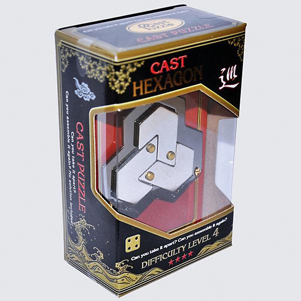 Cast Puzzle Головоломка Шестиугольник yours mine