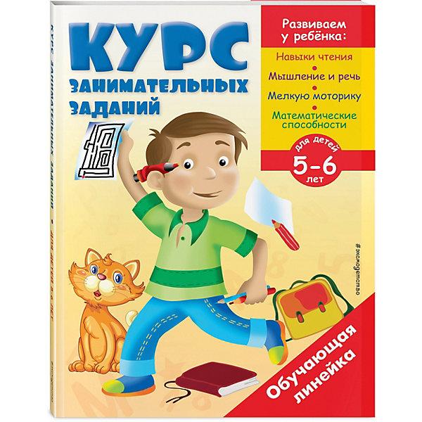 Эксмо Курс занимательных заданий: для детей 5-6 лет эксмо знакомлюсь с окружающим миром для детей 3 4 лет