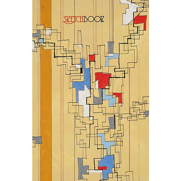Listoff Абстракция А5, 80л. listoff скетчбук цветовой калейдоскоп 100 листов