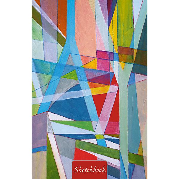Listoff Акварельный коллаж А5, 80л. listoff скетчбук цветовой калейдоскоп 100 листов