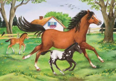 Пазл «Мир лошадей» 2х24шт, артикул:7376837 - Пазлы
