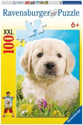 Пазл «Милый щенок» XXL 100 шт, артикул:7376875 - Пазлы