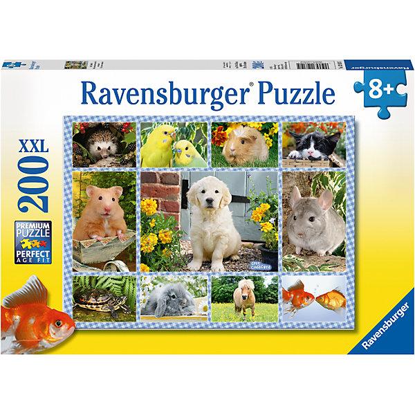 Ravensburger Пазл «Мой первый питомец» XXL 200 шт ravensburger пазл светящийся рапунцель и принц xxl 200 шт