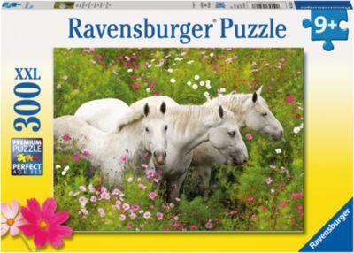 Ravensburger Пазл «Лошади в поле цветов» XXL 300 шт