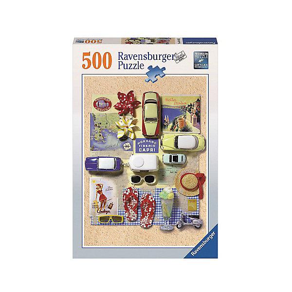 Пазл «Лето в Италии»  500штПазлы классические<br>Характеристики:<br><br>• тип игрушки: пазл;<br>• комплектация: 500 эл.;<br>• бренд: Ravensburger;<br>• упаковка: картон;<br>• размер: 34х4х23 см;<br>• вес: 579 гр;<br>• возраст: от 4 лет;<br>• материал: картон.<br><br>Пазл «Лето в Италии»  500шт представляет из себя увлекательную игру для детей от четырех лет. Набор состоит из 500 деталей, выполненных из высококачественного картона. Из них предлагается собрать изображение природы.<br><br>Пазл сделан из плотного картона, с нанесением яркого красочного рисунка и аккуратной вырубкой деталей с четкими гладкими краями, которые позволяют легко состыковывать элементы пазла между собой. Сборка данного пазла сможет увлечь детей и поспособствовать развитию логического мышления и усидчивости.  Они также развивают образное мышление, наблюдательность и внимательность, а также мелкую моторику и координацию движений рук.<br><br>Пазл «Лето в Италии»  500шт можно купить в нашем интернет-магазине.<br>Ширина мм: 230; Глубина мм: 40; Высота мм: 340; Вес г: 579; Возраст от месяцев: -2147483648; Возраст до месяцев: 2147483647; Пол: Унисекс; Возраст: Детский; SKU: 7376989;