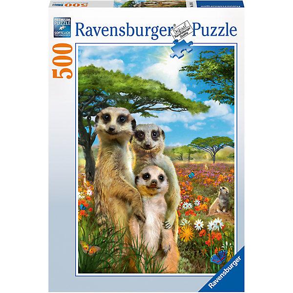 Ravensburger Пазл «Сурикаты» 500 шт ravensburger пазл сказочные единороги xxl 200 шт