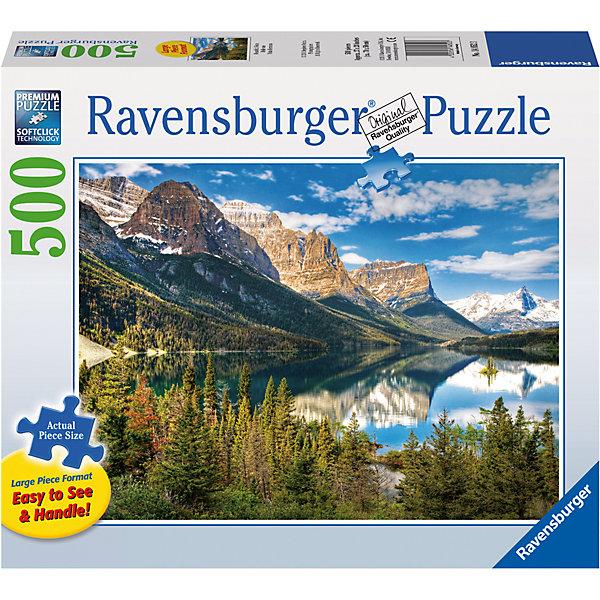 Пазл «Живописные горы» 500 штПазлы классические<br>Характеристики:<br><br>• тип игрушки: пазл;<br>• комплектация: 500 эл;<br>• бренд: Ravensburger;<br>• упаковка: картон;<br>• размер: 34х4х23 см;<br>• вес: 886 гр;<br>• возраст: от 6 лет;<br>• материал: картон.<br><br>Пазл «Живописные горы» 500 элементов представляет из себя увлекательную игру для детей от шести лет. Набор состоит из 500 деталей, выполненных из высококачественного картона. Из них предлагается собрать изображение горного пейзажа. Тут и заснеженные вершины, и горная река и, конечно же, густой лес. Такой пейзаж станет отличным украшением любого интерьера.      <br>Головоломки Ravensburger всегда отличаются высоким качеством полиграфии, изготовлены из экологичного сырья. Собранный пазл будет иметь матовую поверхность без бликов, потому как напечатан на качественной ламинированной бумаге. Пазл сделан из плотного картона, с нанесением красочного рисунка и аккуратной вырубкой деталей с четкими гладкими краями, которые позволяют легко состыковывать элементы пазла между собой. Сборка данного пазла сможет увлечь детей и поспособствовать развитию логического мышления и усидчивости.  Они также развивают образное мышление, наблюдательность и внимательность, а также мелкую моторику и координацию движений рук.<br>Пазл «Живописные горы» 500 элементов можно купить в нашем интернет-магазине.<br>Ширина мм: 340; Глубина мм: 40; Высота мм: 230; Вес г: 886; Возраст от месяцев: -2147483648; Возраст до месяцев: 2147483647; Пол: Унисекс; Возраст: Детский; SKU: 7377017;