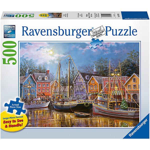 Ravensburger Пазл «Корабли в огнях» 500 шт пазл лебедь на пруду 500 шт