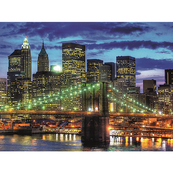 Ravensburger Пазл «Небоскребы Нью-Йорка» 1500 шт пазл clementoni trittico 3х500 эл легенды нью йорка 39305