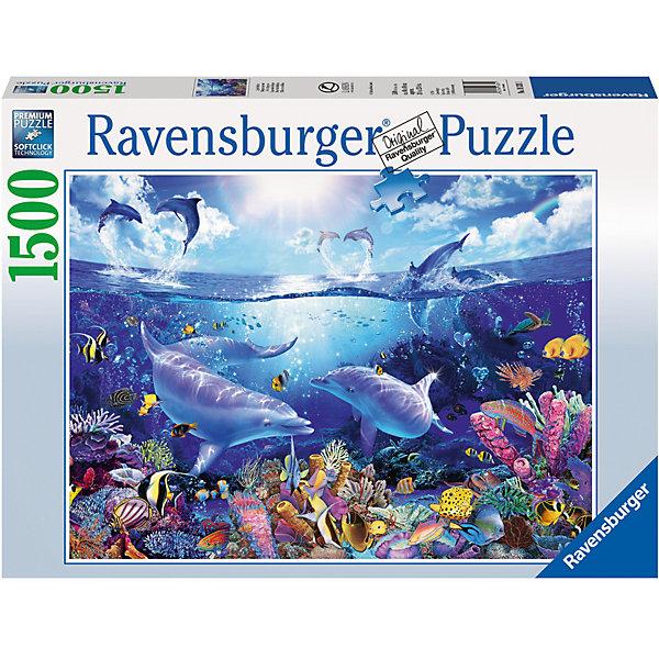Ravensburger Пазл «Жизнь дельфинов» 1500 шт набор язык дельфинов