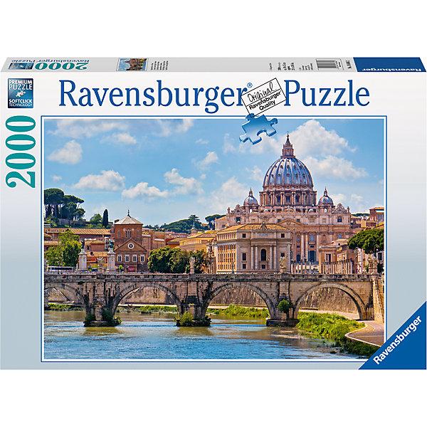 Ravensburger Пазл «Мост Святого Ангела. Рим» 2000 шт ravensburger пазл тигры у водопада 2000 шт