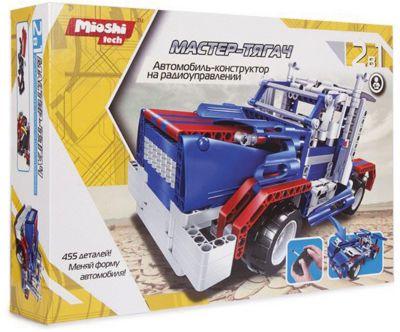 Конструктор 2 в 1 Mioshi Радиоуправляемый автомобиль  Мастер-Тягач , артикул:7377546 - Радиоуправляемые игрушки