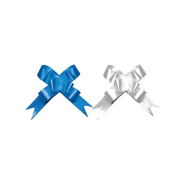 Бант-бабочка, 2 штуки RegalissimiУпаковка новогоднего подарка<br>Характеристики:<br><br>• вес: 5г.;<br>• материал:  фольга;<br>• размер упаковки: 45х1,8х0,5см.;<br>• для детей в возрасте: от 3 лет.;<br>• страна производитель: Россия.<br><br>Набор металлизированных бантов-бабочек синего и серебрянного цвета, бренда «Regalissimi» (Регалисими) станет прекрасным украшением упаковки любого детского подарка.Он создан из высококачественных, экологически чистых материалов, что очень важно для детских товаров.<br><br> Оформление для подарочной упаковки разработано итальянскими дизайнерами и пользуется неизменно высоким спросом на протяжении нескольких лет. Коллекции созданы с учётом цветовой гармонизации ряда, что позволяет оформлять подарки в едином стиле.     <br>              <br>Набор металлизированных бантов-бабочек, можно купить в нашем интернет-магазине.<br>Ширина мм: 450; Глубина мм: 18; Высота мм: 5; Вес г: 5; Возраст от месяцев: 36; Возраст до месяцев: 2147483647; Пол: Унисекс; Возраст: Детский; SKU: 7377688;