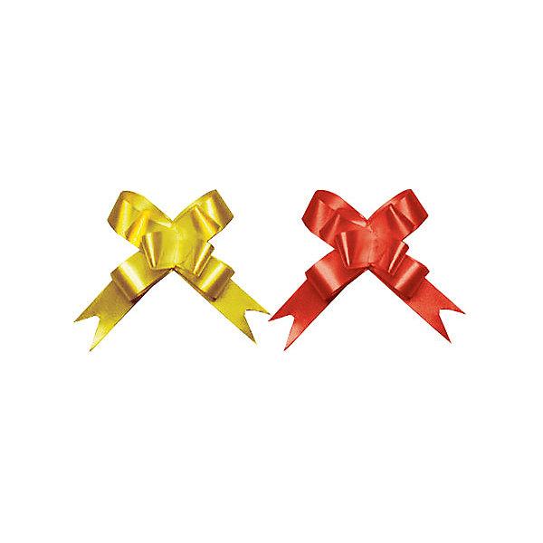 Бант-бабочка, 2 штуки RegalissimiУпаковка новогоднего подарка<br>Характеристики:<br><br>• вес: 5г.;<br>• материал:  металлизированное покрытие;<br>• размер упаковки: 45х1,8х0,5см.;<br>• для детей в возрасте: от 3 лет.;<br>• страна производитель: Россия.<br><br>Набор металлизированных бантов-бабочек золотого и красного цвета, бренда «Regalissimi» (Регалисими) станет прекрасным украшением упаковки любого детского подарка.Он создан из высококачественных, экологически чистых материалов, что очень важно для детских товаров.<br><br> Оформление для подарочной упаковки разработано итальянскими дизайнерами и пользуется неизменно высоким спросом на протяжении нескольких лет. Коллекции созданы с учётом цветовой гармонизации ряда, что позволяет оформлять подарки в едином стиле.<br>                   <br>Набор металлизированных бантов-бабочек, можно купить в нашем интернет-магазине.<br>Ширина мм: 450; Глубина мм: 18; Высота мм: 5; Вес г: 5; Возраст от месяцев: 36; Возраст до месяцев: 2147483647; Пол: Унисекс; Возраст: Детский; SKU: 7377689;