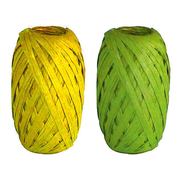 Набор из 2-х упаковочных лент-коконов, рафияУпаковка новогоднего подарка<br>Характеристики:<br><br>• вес: 20г.;<br>• материал: металлизированное покрытие;<br>• размер упаковки: 4х10х15см.;<br>• для детей в возрасте: от 3 лет.;<br>• страна производитель: Россия.<br><br>Набор из двух мотков упаковочных лент-коконов рафия жёлтого и зелёного цвета, бренда «Regalissimi» (Регалисими) станет прекрасным украшением упаковки любого детского подарка.Он создан из высококачественных, экологически чистых материалов, что очень важно для детских товаров.<br><br> Оформление для подарочной упаковки разработано итальянскими дизайнерами и пользуется неизменно высоким спросом на протяжении нескольких лет. Коллекции созданы с учётом цветовой гармонизации ряда, что позволяет оформлять подарки в едином стиле.  <br>                 <br>Набор упаковочной ленты-кокона рафия, можно купить в нашем интернет-магазине.<br>Ширина мм: 40; Глубина мм: 100; Высота мм: 150; Вес г: 20; Возраст от месяцев: 36; Возраст до месяцев: 2147483647; Пол: Унисекс; Возраст: Детский; SKU: 7377709;