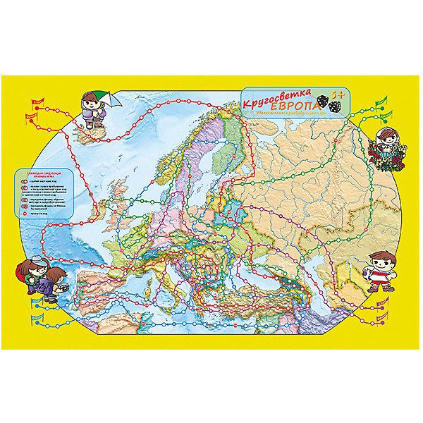 Издательство Ди Эм Би Карта-игра  Европа Кругосветка