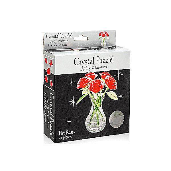 цена на Crystal Puzzle 3D головоломка Букет в вазе