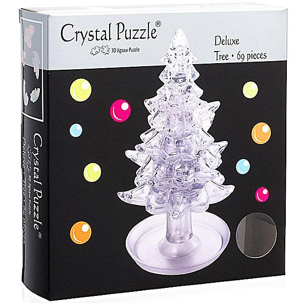 Crystal Puzzle 3D головоломка Елочка Белая