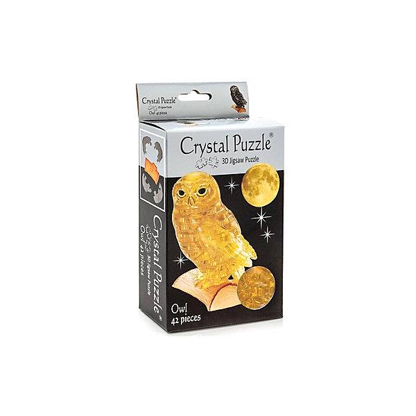 цена на Crystal Puzzle 3D головоломка Сова янтарная