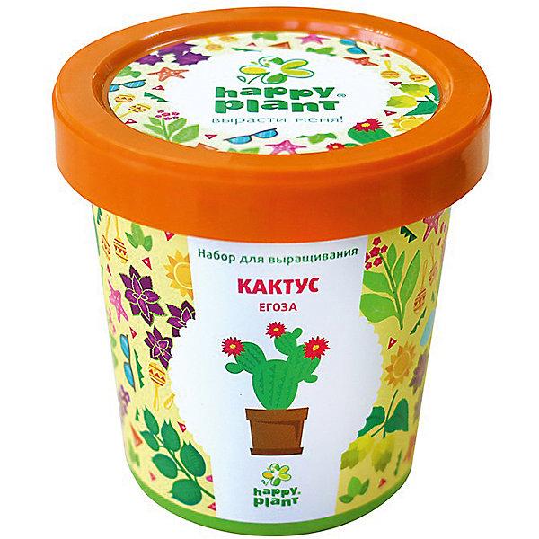 Набор для выращивания Кактус ЕгозаВыращивание растений<br>Характеристики:<br><br>• возраст: от 3 лет;<br>• в комплекте: горшок, плодородный грунт, керамзит, семена, инструкция;<br>• объем: 500 мл;<br>• вес упаковки: 240 гр.;<br>• размер упаковки: 10х10х7 см;<br>• страна производитель: Россия.<br><br>Наборы для выращивания Happy Plant помогут освоить азы садоводства тем, кто совсем не знаком с этой деятельностью. А также станут отличным подарком для тех, кто любит цветущие растения.<br><br>В наборе есть все необходимое, чтобы посадить и вырастить кактус Егоза. Сама упаковка станет горшочком, а крышка — подставкой. С помощью инструкции на русском языке посев будет простым и увлекательным занятием! Выращивание повышает чувство ответственности и улучшает настроение, особенно когда появляются первые результаты.<br><br>Набор для выращивания «Кактус Егоза» можно купить в нашем интернет-магазине.<br>Ширина мм: 100; Глубина мм: 100; Высота мм: 70; Вес г: 240; Возраст от месяцев: 36; Возраст до месяцев: 2147483647; Пол: Унисекс; Возраст: Детский; SKU: 7378724;