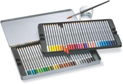 Карандаши цветные акварельные Karat Aquarell, 60 цветов, Staedtler, артикул:7379396 - Рисование и раскрашивание