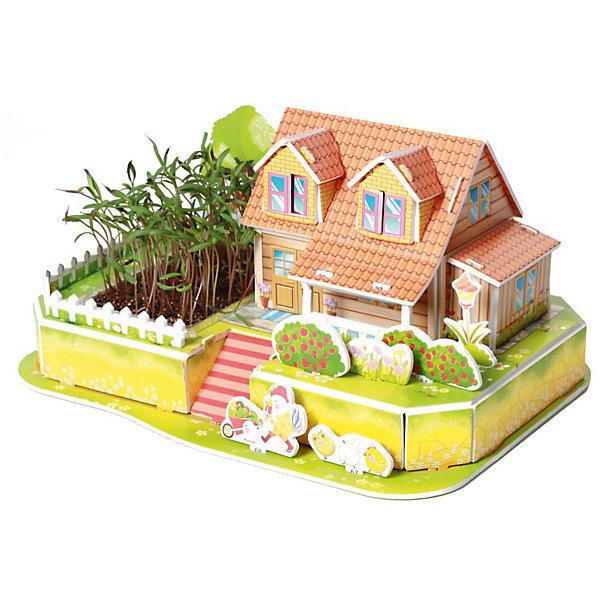 Купить 3D пазл Zilipoo Любимый сад , 22 элемента, Китай, Унисекс