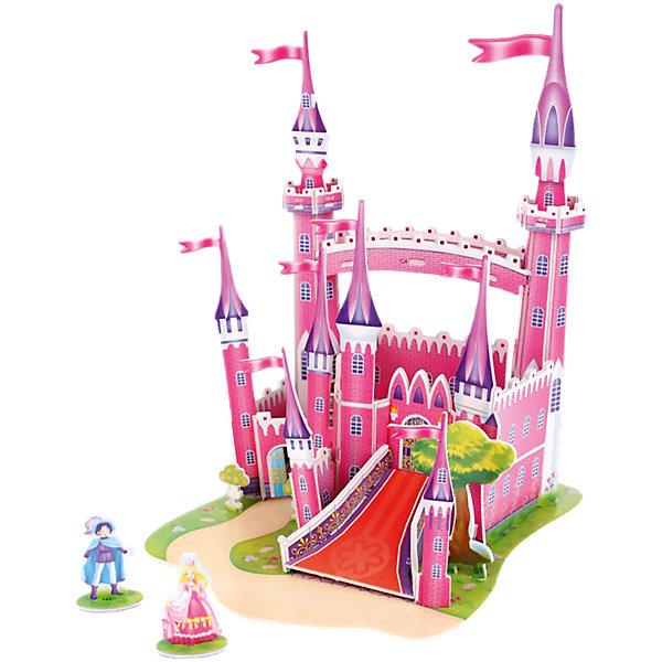 Funny 3D пазл Розовый замок, 29 элементов