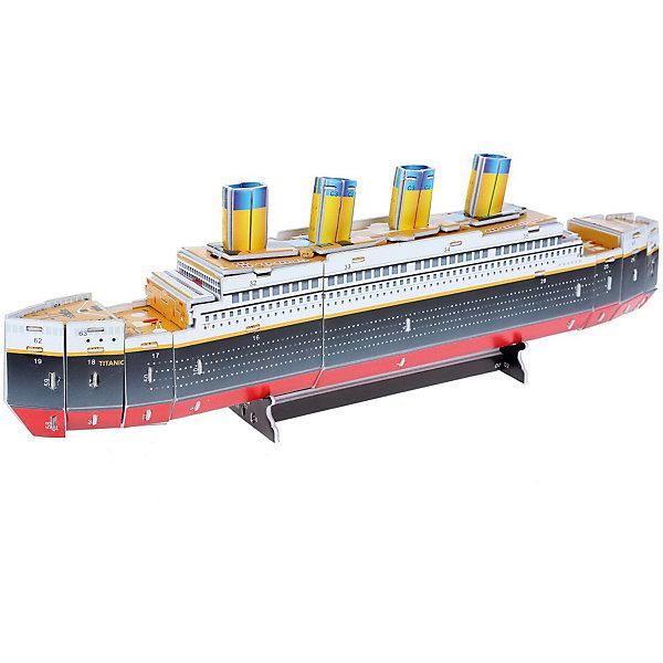 Zilipoo 3D пазл Zilipoo Титаник, 36 элементов zilipoo 3d пазл zilipoo робот плиозавр 197 элементов