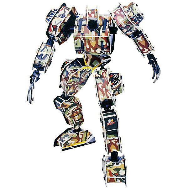 Zilipoo 3D пазл Zilipoo Робот Зевс, 59 элементов zilipoo 3d пазл zilipoo робот плиозавр 197 элементов