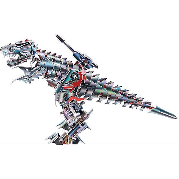 Zilipoo 3D Пазл Zilipoo Робот Тираннозавр, 171 элемент zilipoo 3d пазл zilipoo робот плиозавр 197 элементов
