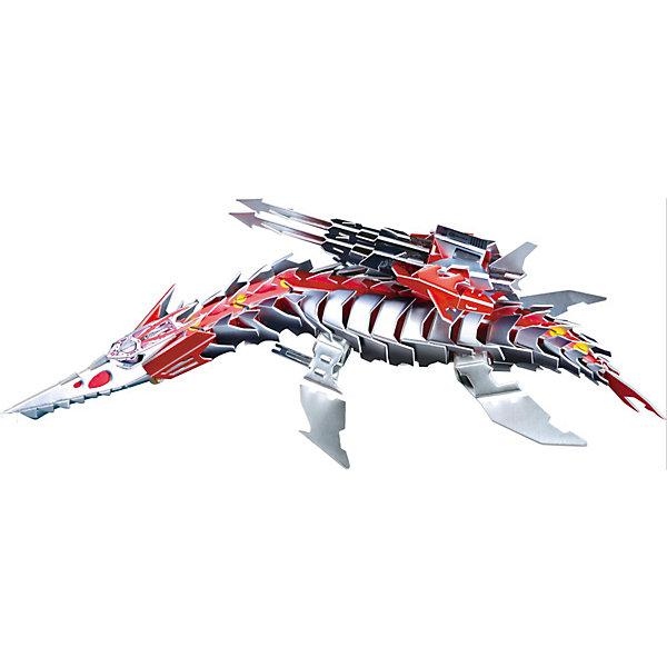 Zilipoo 3D пазл Zilipoo Робот Плиозавр, 197 элементов zilipoo 3d пазл zilipoo робот плиозавр 197 элементов