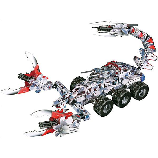 Zilipoo 3D Пазл Zilipoo Танк Скорпион, 251 элемент zilipoo 3d пазл zilipoo робот плиозавр 197 элементов