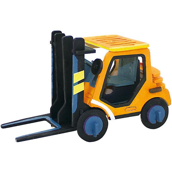 Сборная модель Robotime Грузоподъемник3D пазлы<br>Характеристики товара:<br><br>• возраст: от 3 лет;<br>• материал: дерево;<br>• в комплекте: 37 деталей, инструкция;<br>• размер упаковки: 23х19х1 см;<br>• вес упаковки: 250 гр.;<br>• страна производитель: Китай.<br><br>Сборная модель Robotime (Роботайм) Грузоподъемник -  это занимательное хобби, в котором ребенок сможет не только сам собрать маленькую копию настоящего грузоподъемника, но и раскрасить темперными красками, попробовав себя в роли дизайнера. <br><br>Помимо творческого мышления, сборка поможет развить логику, внимательность и усидчивость.<br><br>Модель входит в серию «Техника» Robotime (Роботайм) с бумажным покрытием. Собрав всю серию ребенок познакомится с увлекательной разнообразной техникой<br> <br>Детали для сборки расположены на двух листах шлифованной фанеры. Сборка не требует склеивания. Однако, при желании, для того чтобы усилить устойчивость, можно проклеивать места соединения.<br><br>Сборную модель Robotime (Роботайм) Грузоподъемник можно купить в нашем интернет-магазине.<br>Ширина мм: 230; Глубина мм: 185; Высота мм: 6; Вес г: 250; Возраст от месяцев: 36; Возраст до месяцев: 2147483647; Пол: Унисекс; Возраст: Детский; SKU: 7379905;