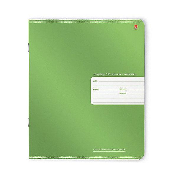 Тетрадь Премиум Металлик 12 листов, линейка, цвет в ассортименте, 10 шт.Тетради<br>Характеристики:<br><br>• количество: 10 шт.;<br>• формат: А5;<br>• внутренний блок: 12 листов, линия, с полями;<br>• плотность обложки: 190 гр./кв.м.;<br>• плотность бумаги: 60 гр./кв.м.;<br>• тип крепления: скрепка;<br>• обложка  рисунок в ассортименте.<br><br>«Премиум металлик» от компании «Альт» — линейка тетрадей в линию в лаконичном стиле. Качественные бумажные листы с красными полями соответствуют школьным стандартам письма. Чернила отлично впитываются и практически не размазываются по бумаге. Обложка выполнена из чистой целлюлозы, которая надежно защищает листы от порчи. Цвет обложки с металлическим отливом может отличаться от представленного на фото.<br><br>Тетрадь 12 л. лин. «Премиум Металлик» ,  рисунок в ассортименте можно купить в нашем интернет-магазине.