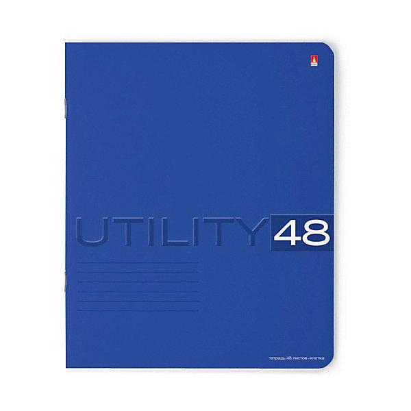 Альт Тетрадь Unility 48 листов, клетка, 5 шт., рисунок в ассортименте