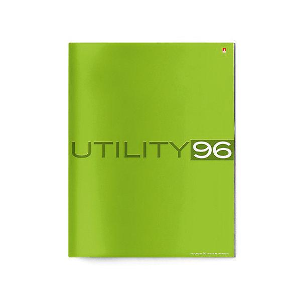 Альт Тетрадь А4 Unility 96 листов, линейка, цвет в ассортименте