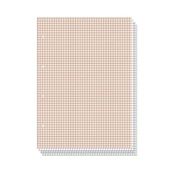 Альт Сменные для тетрадей на кольцах А5, 200 л. (4 цвета)
