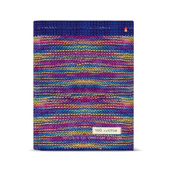 Альт Тетрадь на кольцах со сменным блокомМодный свитер тетрадь на кольцах веселые еноты со сменным блоком