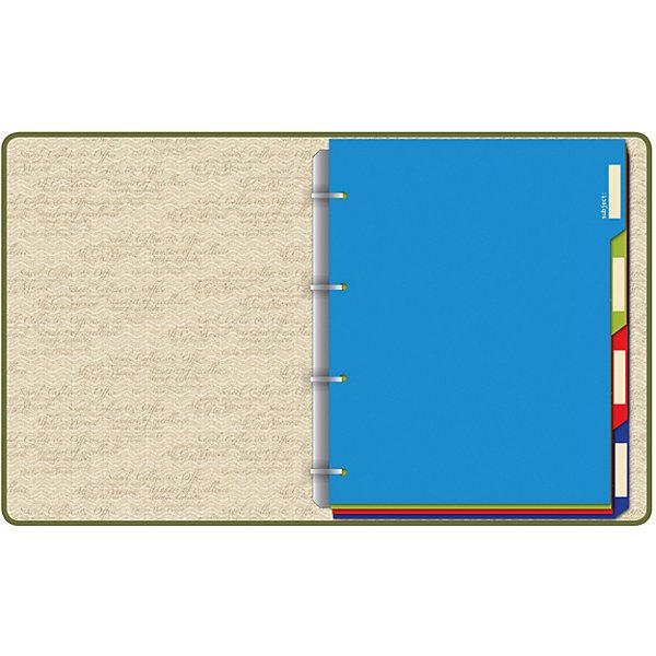 Альт Тетрадь на кольцах со сменным блоком Сова-2 тетрадь на кольцах веселые еноты со сменным блоком