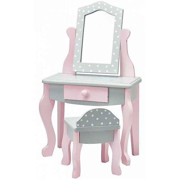 Купить Мебель для кукол Kids4Kids Мир принцесс Туалетный столик, Китай, Женский