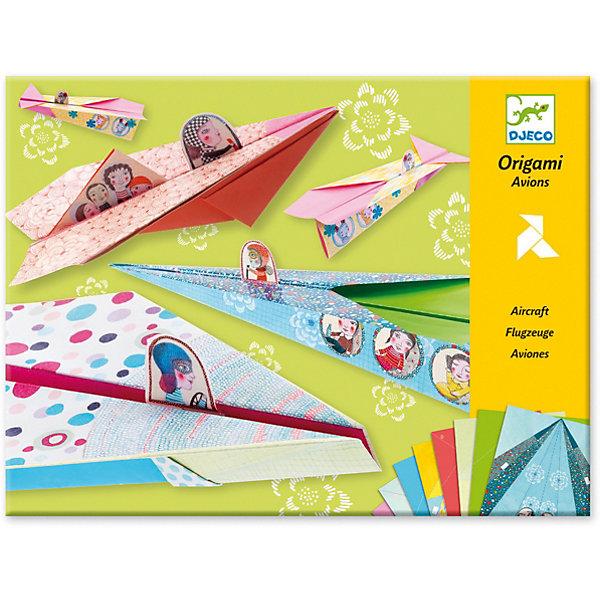 Купить Оригами Веселые авиаторы, Djeco, Франция, Унисекс