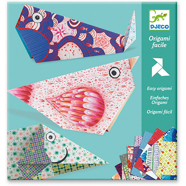 Оригами Большие животные , Djeco, Франция, Унисекс  - купить со скидкой