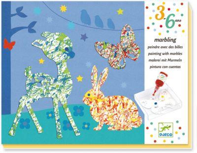 Набор для творчества Разноцветный парад, Djeco, артикул:7414717 - Рисование и раскрашивание
