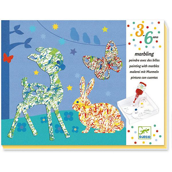 DJECO Набор для творчества Разноцветный парад, Djeco djeco djeco набор для творчества аксессуары для шитья