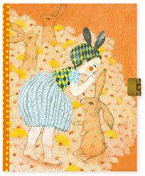 Блокнот с замочком Элоди, Djeco, артикул:7414756 - Бумажная продукция
